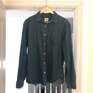 Gap denim shirt large